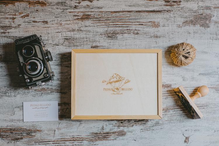 Caja con impresiones en papel fine art