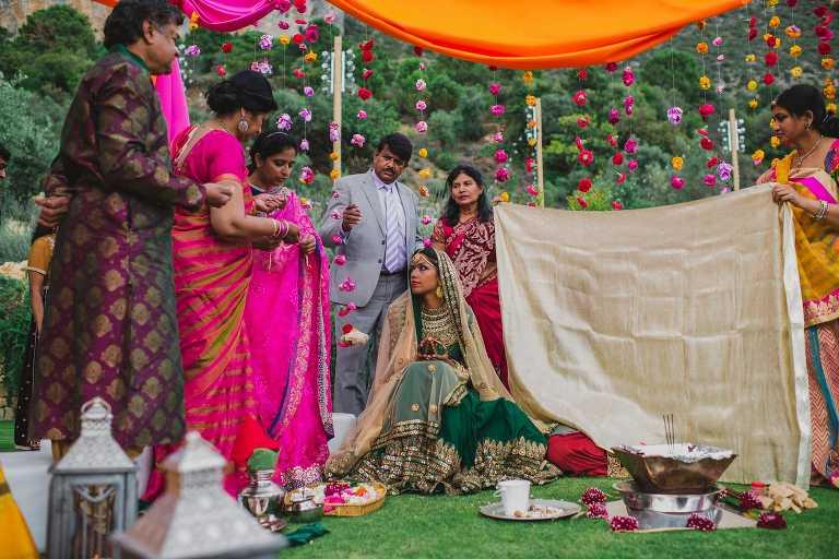 Boda hindu en marbella boda india en malaga - Decoracion indu ...