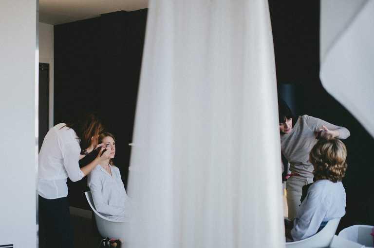 Preparativo de bodas Hotel Suite Novotel